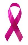 知名度乳腺癌丝带 免版税库存图片