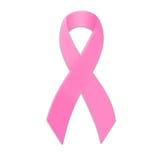 知名度乳腺癌丝带 皇族释放例证