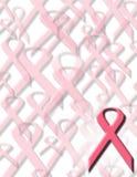 知名度乳腺癌 库存图片