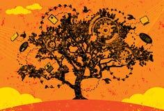 知识树 免版税库存照片
