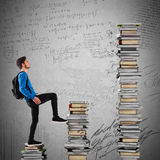 知识的逐步升级 免版税库存照片