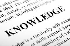 知识 免版税库存照片