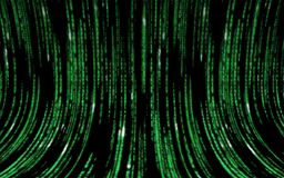 矩阵代码 免版税库存图片
