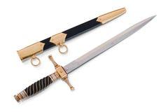 短剑鞘 免版税库存照片