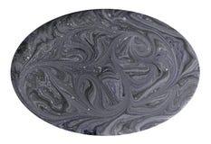 短剖面宝石纹理的模仿 在白色背景隔绝的自然大理石纹理 矿物石头 图库摄影