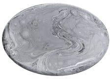 短剖面宝石纹理的模仿 在白色背景隔绝的自然大理石纹理 矿物石头 免版税图库摄影