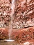 短号在碲化物,科罗拉多的小河秋天 免版税库存图片