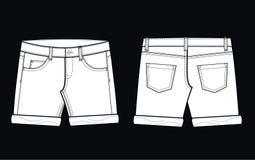 短裤 皇族释放例证