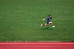 短跑培训 免版税库存图片