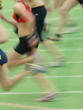 短跑选手 免版税库存图片