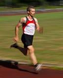 短跑选手 免版税库存照片