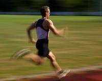 短跑选手 库存照片