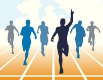 短跑 免版税库存图片