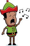 矮子唱歌 免版税库存图片