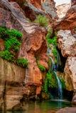 矮子峡谷 库存图片