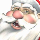 矮子快活的好极了圣诞老人 图库摄影
