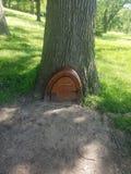 矮子树门 库存照片