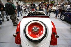 矮脚鸡60汽车在1938年做的,叫作米老鼠的汽车 免版税图库摄影