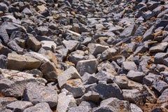 石倾斜 免版税库存图片