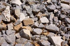石倾斜 库存照片