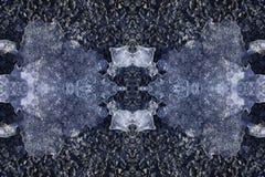石冰和雪构造背景几何装饰品 为 库存例证
