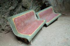 石凳 图库摄影