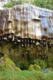 石化的好的母亲Shiptons洞Knaresborough 库存图片
