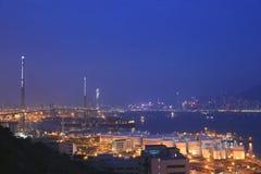 石匠桥梁照片在香港 免版税图库摄影
