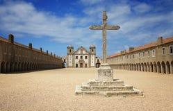 石十字架从诺萨Senhora做Cabo 免版税库存图片