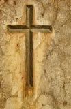 石十字架 库存图片