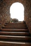 石台阶 免版税库存图片