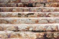 石台阶 免版税库存照片