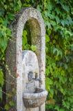石喷泉 免版税库存图片