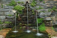 石喷泉 库存照片
