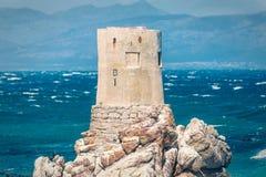 石在贝蒂的海湾,南非的点岩石海岸线 库存图片