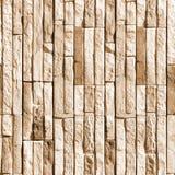 石块墙壁无缝的照片纹理  免版税库存照片