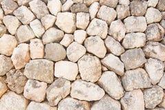 石块墙特写镜头 免版税库存图片