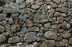 石块墙 库存图片