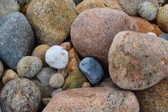 石块海岛晃动4 库存图片