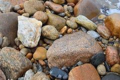 石块海岛晃动8 库存照片