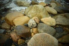 石块海岛晃动9 图库摄影
