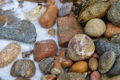 石块海岛晃动30 库存图片