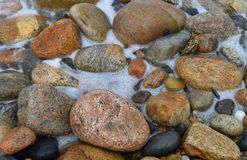 石块海岛晃动37 免版税库存照片