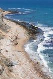 石块海岛罗德岛州 库存图片