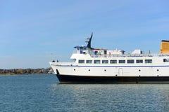 石块海岛轮渡, Narragansett, RI 免版税库存图片