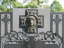 石坟茔 库存照片