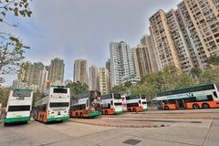 石塘咀hk城市视图  库存图片