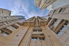 石塘咀hk城市视图  库存照片