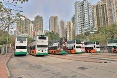 石塘咀hk城市视图  免版税库存图片