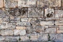 石墙。 库存图片